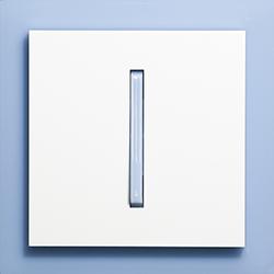 Выключатель 1-кл. сине-ледяной  Neo ABB