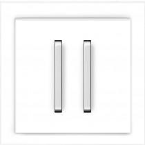 Выключатель 2-кл.проходной белый Neo ABB