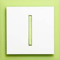 Выключатель 1-кл. зелено-ледяной  Neo ABB