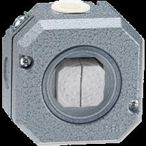 Выключатель 2-кл проходной серый Garant IP66 ABB