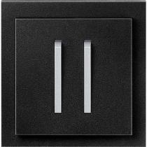 Выключатель 2-кл. оникс-титан  NeoTech ABB