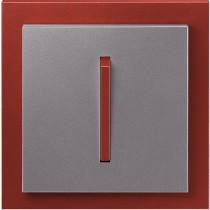 Выключатель 1-кл. проходной сталь-терракота  NeoTech ABB