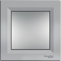 Выключатель 1-кл. перекрестный серебристый Asfora Schneider