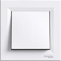 Выключатель 1-кл. перекрестный белый Asfora Schneider