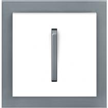 Выключатель 1-кл. проходной серо-ледяной  Neo ABB