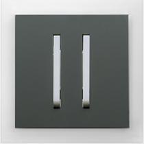 Выключатель 2-кл. графит  Neo ABB