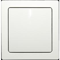 Выключатель 1-кл. проходной белый Swing ABB