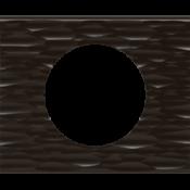 Черный рифленый камень