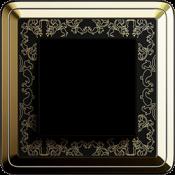 Латунь-черный Art металл