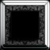 Хром-черный Art металл