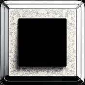 Хром-кремовый Art металл